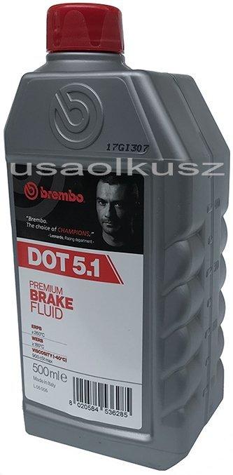 Płyn hamulcowy DOT 5.1 BREMBO 0,5l