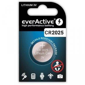 Bateria litowa CR2025 everActive 1 szt.