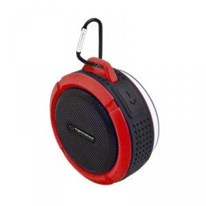 Głośnik Bluetooth Esperanza Country czarno- czerwony EP125KR