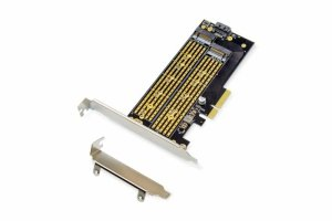 Karta rozszerzeń (Kontroler) DIGITUS M.2 NGFF/NVMe SSD PCIe 3.0 SATA  110, 80, 60, 42, 30mm