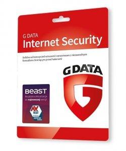 GDATA Internet Security 1PC 1rok karta-klucz