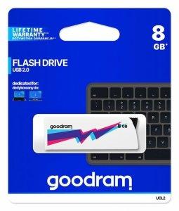 Pendrive GOODRAM UCL2 8GB USB 2.0 White