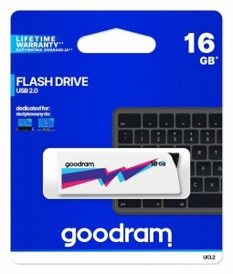 Pendrive GOODRAM UCL2 16GB USB 2.0 White