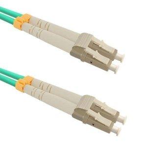 Patchcord Światłowodowy Qoltec LC/UPC-LC/UPC MM 50/125 OM3 1m
