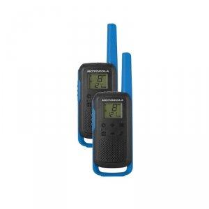 Motorola Talkabout T62 dwupak + ładowarka niebieski
