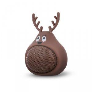 Forever głośnik Bluetooth Sweet Animal Deer Frosty brązowy ABS-100