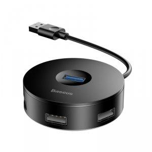 Baseus adapter HUB USB 3.0 do 4xUSB czarny