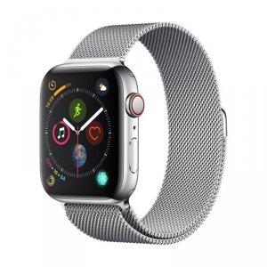 Devia pasek Elegant Milanese do Apple Watch 44mm/ 42mm silver