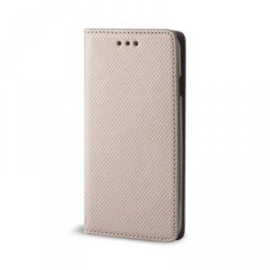 Etui Smart Magnet do Samsung Galaxy A41 złote