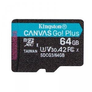 Kingston karta pamięci micro SDXC Canvas Go! Plus (64GB   class 10   UHS-I   170 MB/s)