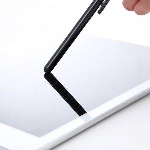 Uniwersalny rysik pojemnościowy do ekranów dotykowych czarny