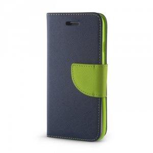 Etui Smart Fancy do Samsung Galaxy A42 5G granatowo-zielony
