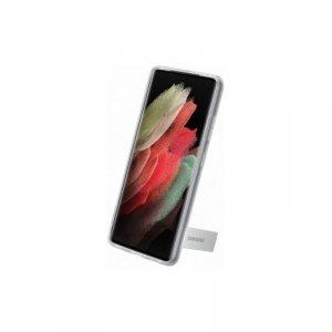 Samsung nakładka Clear Standing Cover do Galaxy S21 Ultra transparentna