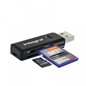 Integral  USB 3.1 SD AND MICROSD CARD READER v.2