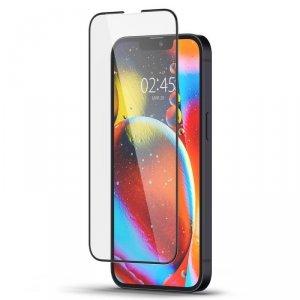 Spigen szkło hartowane GLAS.TR SLIM FC do iPhone 13 Mini czarne