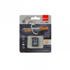 IMRO MicroSDHC 8GB kl.10 z adapterem