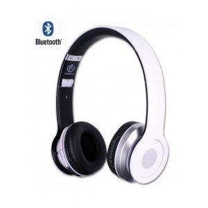 Rebeltec słuchawki Bluetooth Crystal białe