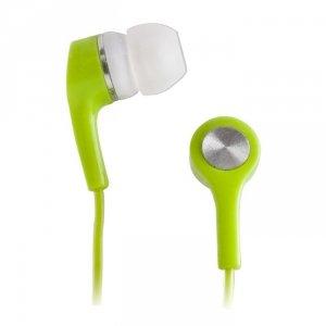 Setty słuchawki przewodowe dokanałowe zielone