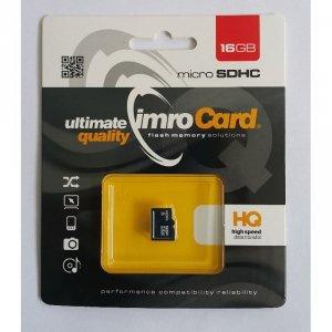 IMRO MicroSDHC 16GB kl.4 bez adaptera
