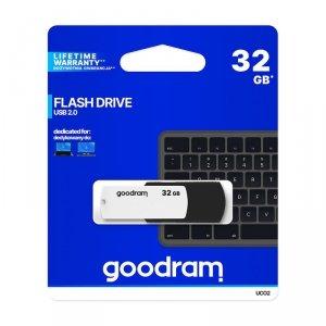 GoodRam pendrive (32GB   USB2.0) czarno-biały