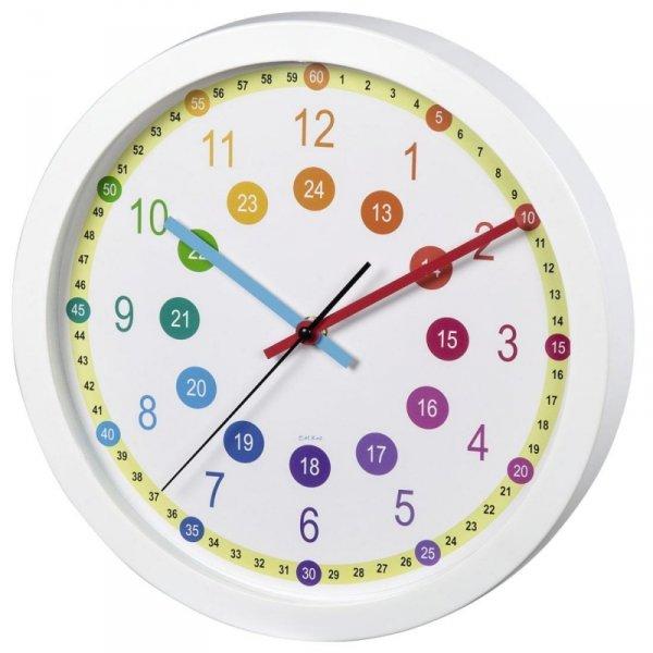Zegar ścienny Hama Easy learning
