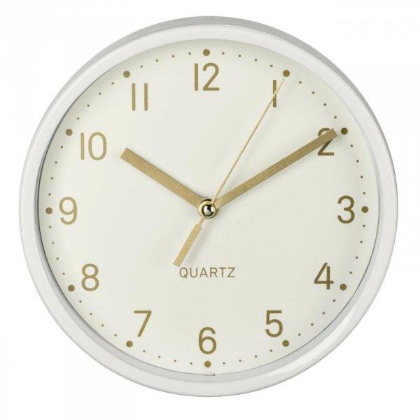 """Zegar stołowy Hama """"Golden"""" biały"""