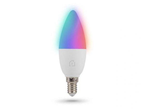 Żarówka inteligentna Lanberg LED Smart Home WiFi RGBW E14 450lm 5W