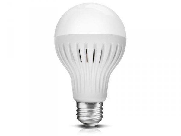 Żarówka LED E27 Maclean MCE176 CW 12W 230V zimna biała mikrofalowy czujnik ruchu i zmierzchu