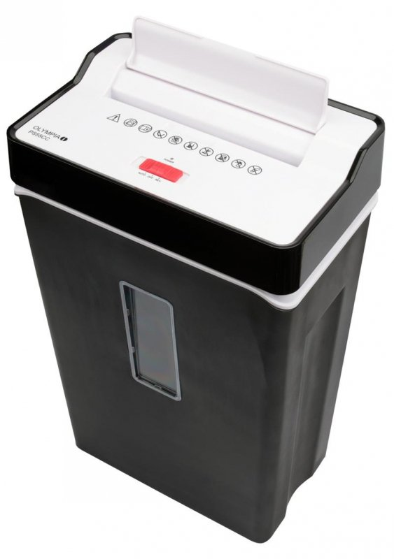 Niszczarka ścinkowa Olympia PS 55 CC czarna