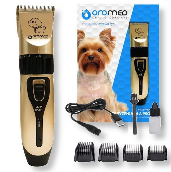 Maszynka do strzyżenia psów OROMED ORO-PET CLIPPER USB