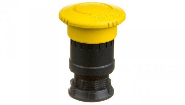 Napęd przycisku grzybkowego żółty przez obrót ZB5AS55