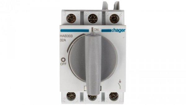 Rozłącznik izolacyjny 3P 32A HAB303