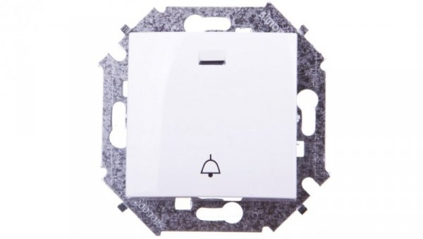 Simon 15 Przycisk /dzwonek/ biały 1591162-030