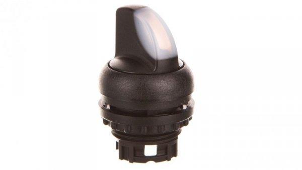Napęd przełącznika 2 położeniowy biały z podświetleniem bez samopowrotu M22S-WLKV-W 284398