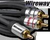 Kabel RCA Wireway 10m Y 1-2