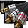 Kabel Jack-2RCA Wireway 5m Audio
