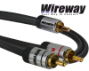 Kabel RCA Wireway 3m Y 1-2