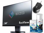 EIZO FlexScan EV2455 24 Czarny IPS FullHD HDMI DisplayPort
