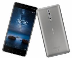 Smartfon NOKIA 8 4GB, 64GB, LTE, 5,3 QHD, Dual SIM Android 7.1.1 (stalowy) + Głośnik Bluetooth