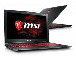 MSI GV62 i7-7700HQ/16GB/1TB/Win10 FHD GTX1050-4GB