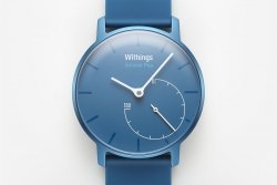 Withings Activité Pop - zegarek monitorujący aktywność fizyczną i sen iOS i Android (niebieski)