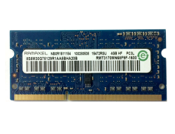 Pamięć RAM 4GB Ramaxel SO-DIMM DDR3 1600MHz PC3-12800 CL11