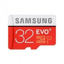 Karta pamięci 32GB microSD Samsung EVO Plus Class 10 80MB/s +Adapter