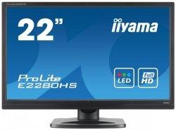 IIYAMA 22 E2280HS-B1 FHD 5ms Głośniki