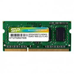 Pamięć RAM 4GB Silicon SO-DIMM DDR3 1600MHz CL11