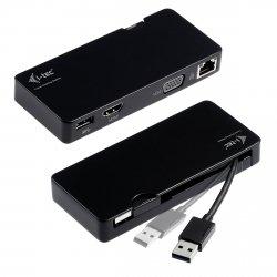 i-tec USB 3.0 Travel Advance Stacja dokująca VGA/HDMI/USB/RJ-45
