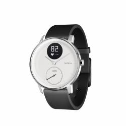 NOKIA Activité Steel HR - zegarek monitorujący aktywność fizyczną i puls iOS i Android (biały 36mm)
