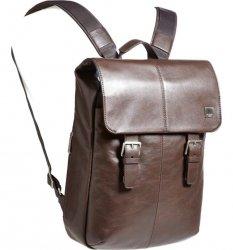 Knomo Hudson - plecak skórzany do notebooka 15 (czarny) 54-400-BLK