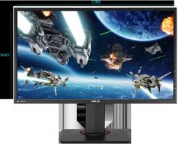 Monitor ASUS MG278Q 27 1ms 144Hz WQHD HDMI DP + ASSASSINS CREED ORGINS