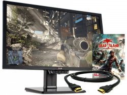 LG 24GM77-B 24 TN 1ms 144Hz Gaming eSPORT + GRATISY